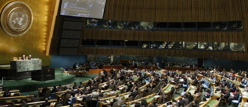 Image of the United Nations General Assembly