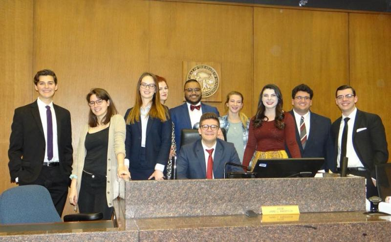 2018 Mock Trial Team Nationals